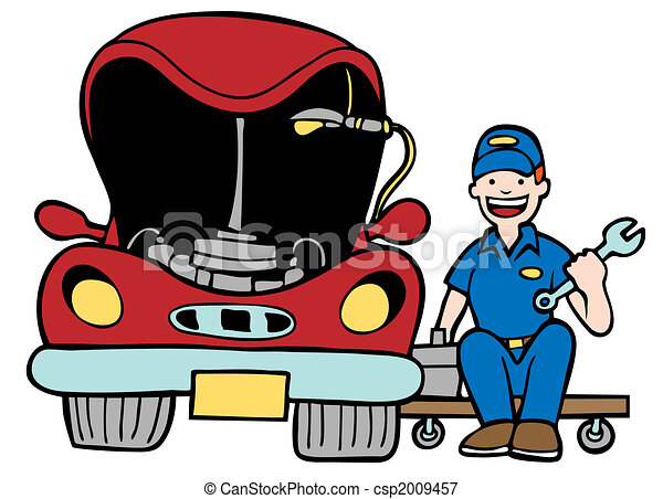 mechanic illustrations and clip art 48 223 mechanic royalty free