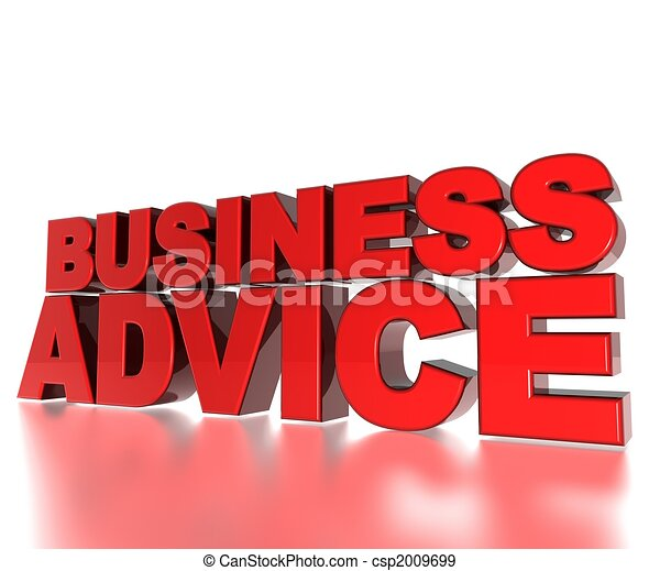 Business Advice - csp2009699