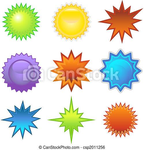 Starburst Set - csp2011256