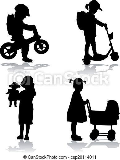 Children with toys - csp20114011