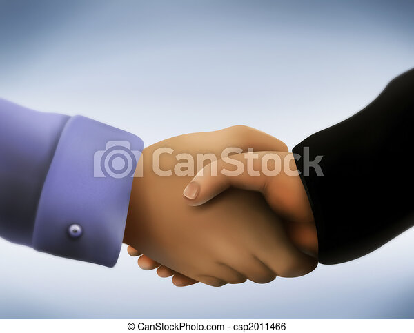 Business Handshake - csp2011466