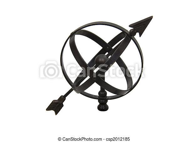 simples, astrolábio - csp2012185