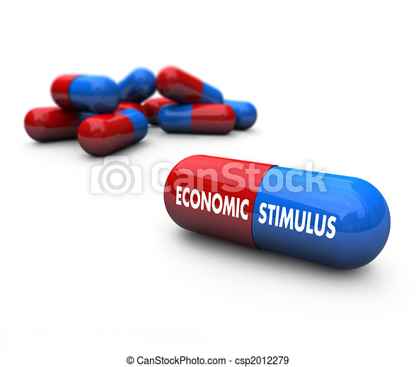 Economic Stimulus - Pills - csp2012279