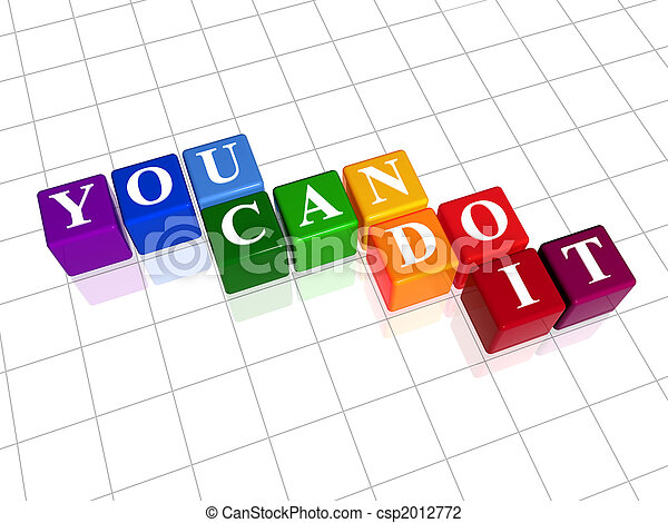 you can do it in colour - csp2012772