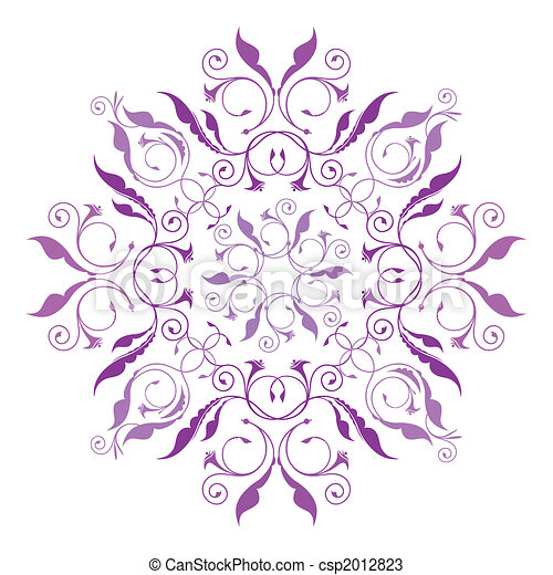 Classical Floral Pattern - csp2012823
