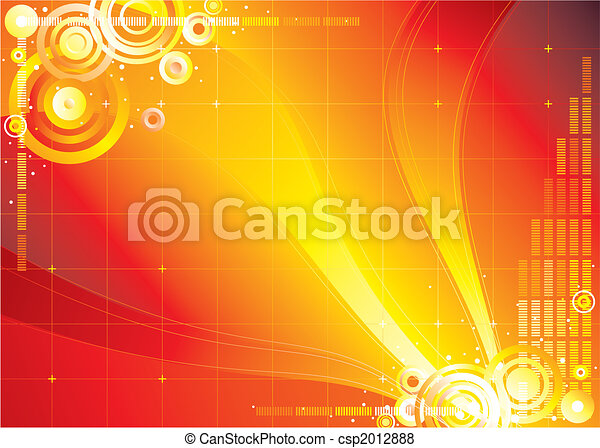 Red Color Infinity Background - csp2012888