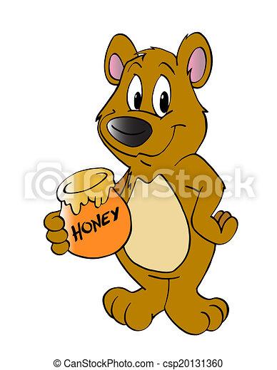 bär honig