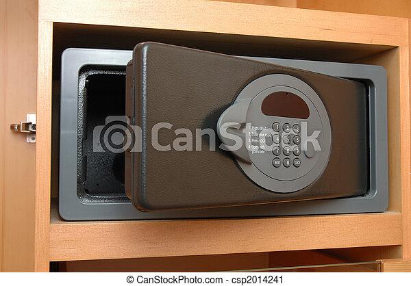 Safe box in closet - csp2014241