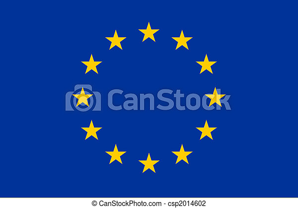 Flag of Europe - csp2014602