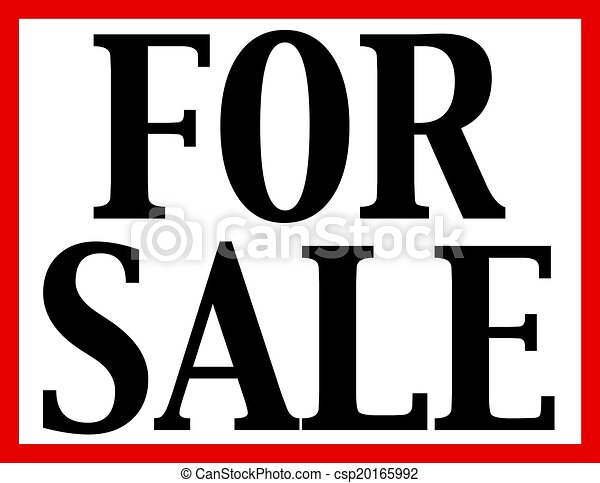 For Sale Sign - csp20165992