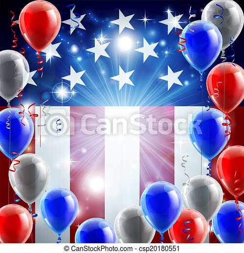 Independence Day 4th of July Concep - csp20180551