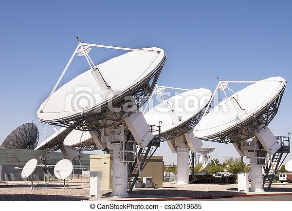 Satellite Dishes - csp2019685