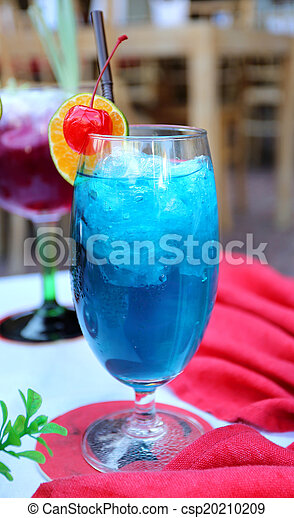 blue cocktail  - csp20210209