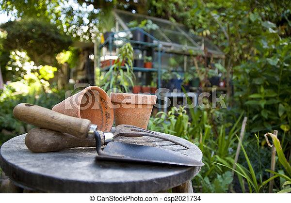 Gardening - csp2021734