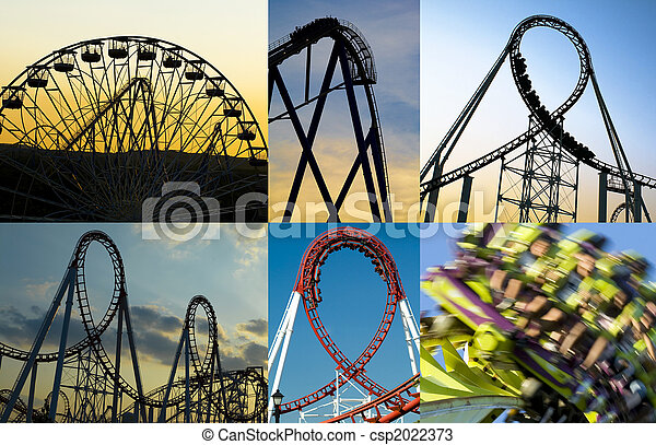 Roller Coasters - csp2022373