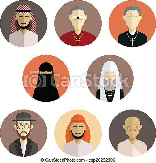 Religion icons - csp20232306