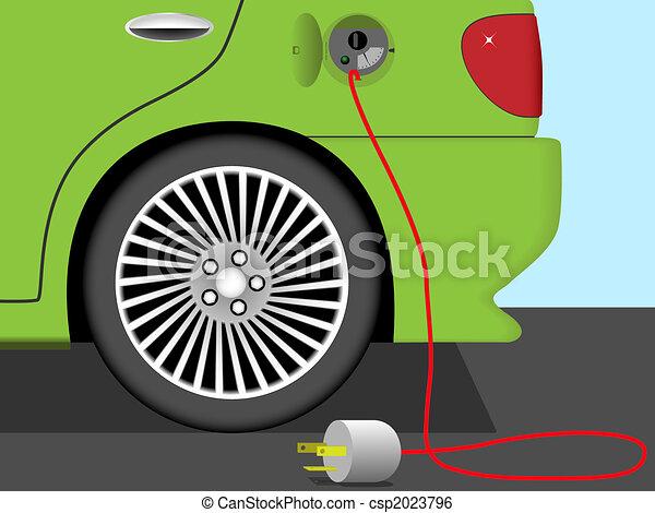 Electric car - csp2023796