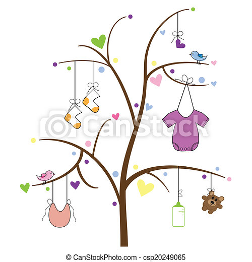 Baby Items Tree - csp20249065