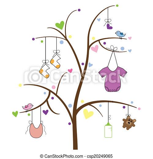 Baby Items Tree - csp20249065