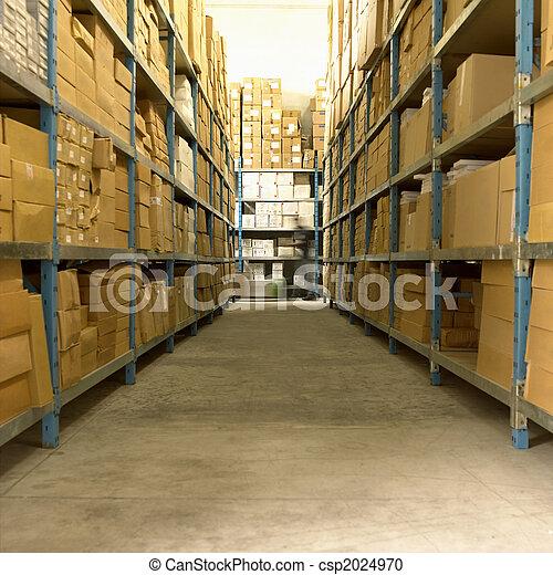 Merchandise Stocking - csp2024970
