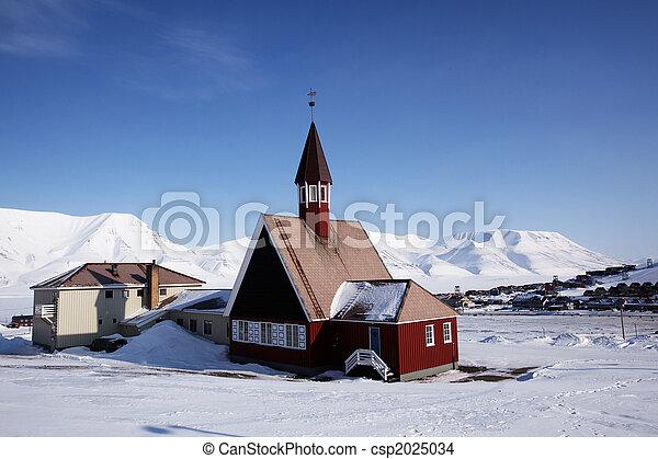 Longyearbyen Church - csp2025034