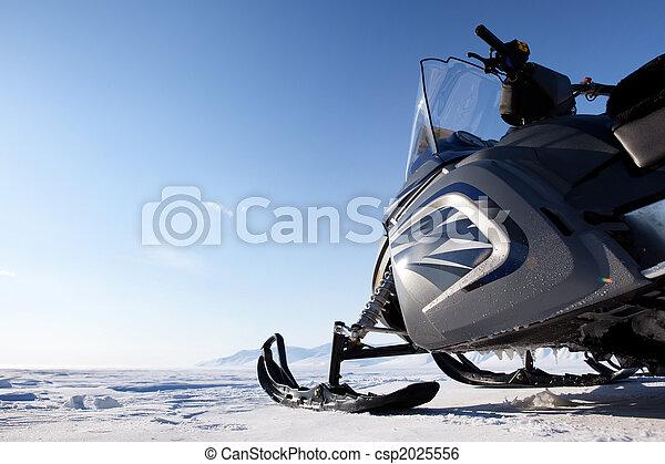Snowmobile - csp2025556