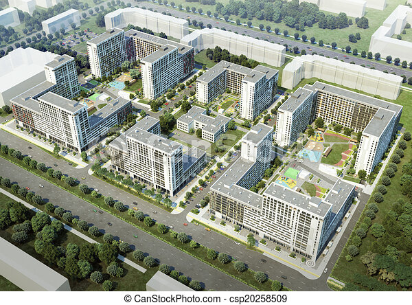 Residential complex - csp20258509