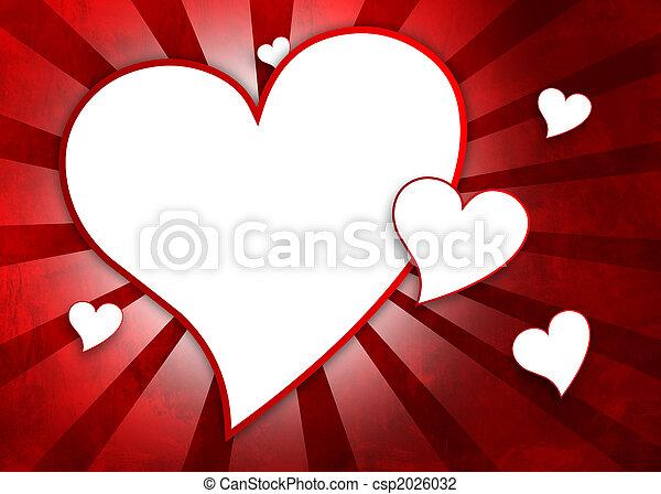 valentine\'s, greating, jour, carte - csp2026032