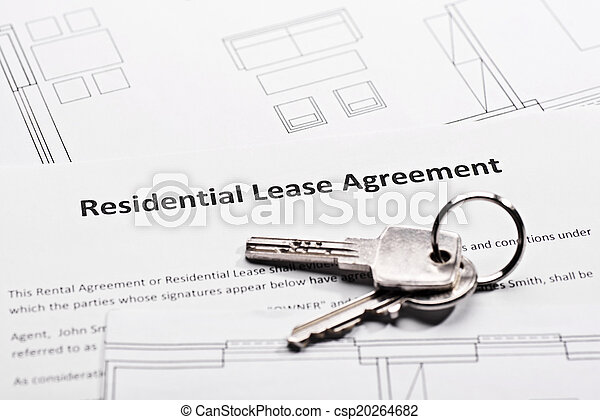 Residential lease agreement - csp20264682
