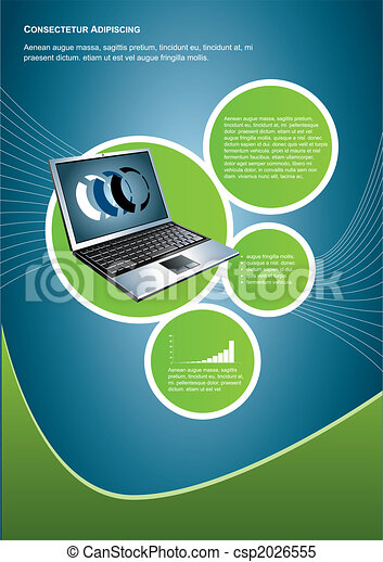 technology background - csp2026555