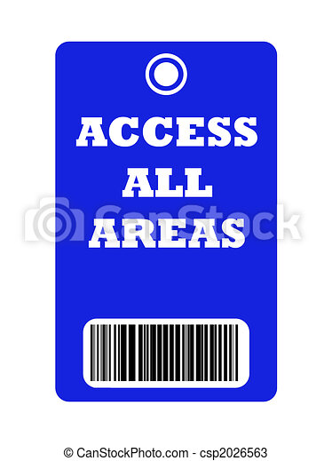 Access all areas pass - csp2026563