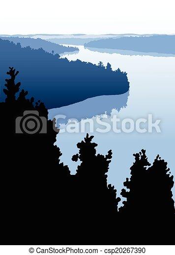 Rustic Northern Lake - csp20267390