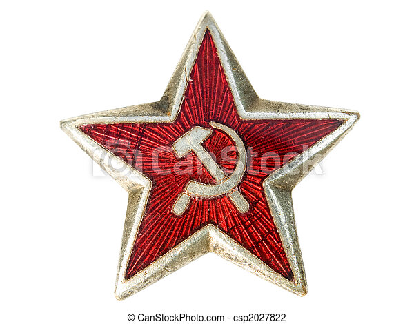 Communist star - csp2027822