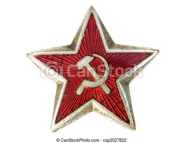 Communist star - csp2027822