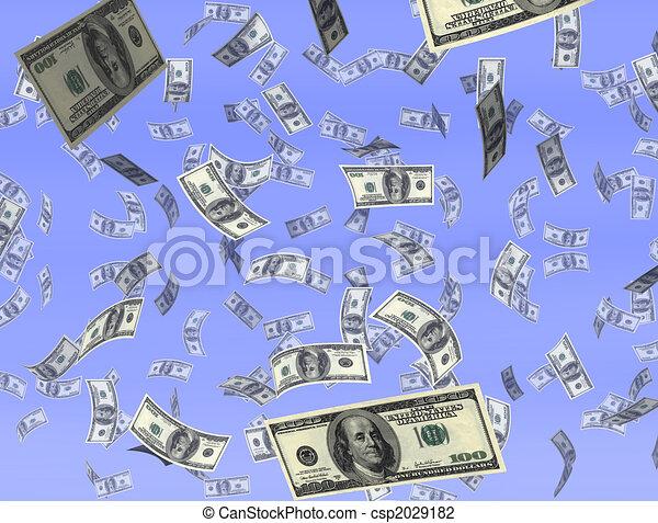 Money from heaven - csp2029182