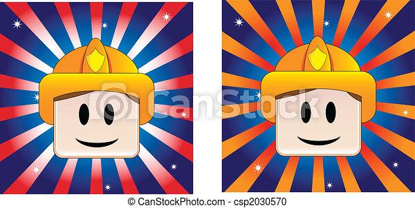 Firefighter Background - csp2030570