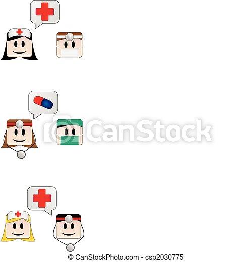 Medical Conversation - csp2030775