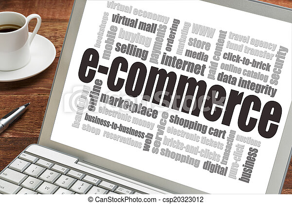 e-commerce word cloud - csp20323012