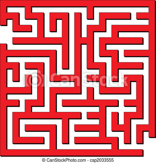 Simple maze - csp2033555