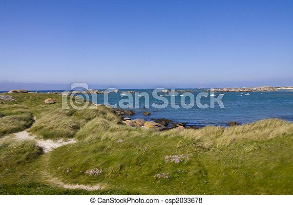 coastline - csp2033678
