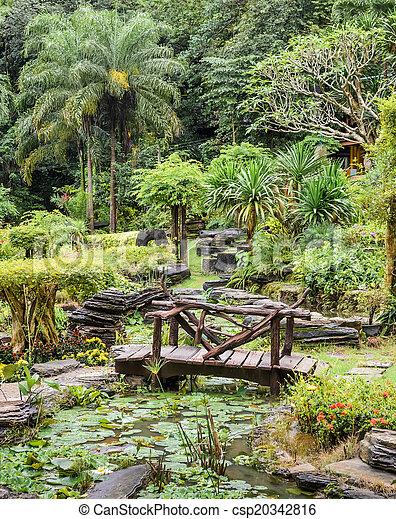 Ornamental garden  - csp20342816