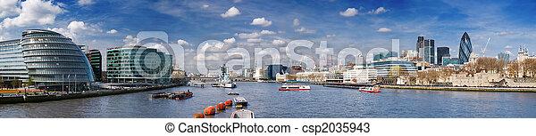 XXXL - City of London skyline. - csp2035943