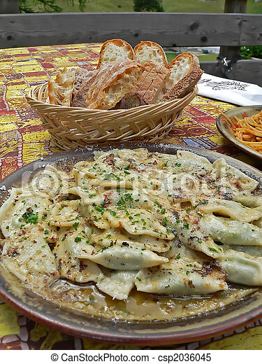 italian food - csp2036045