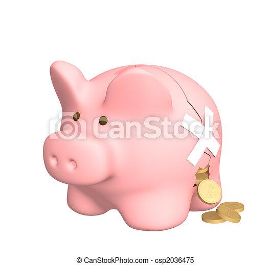 Financial losses - csp2036475