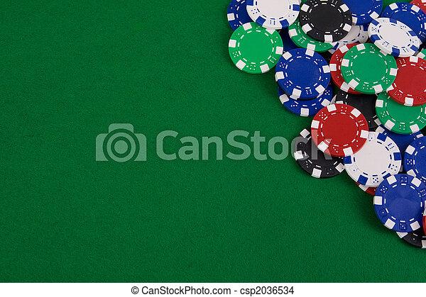 Gambling chips - csp2036534