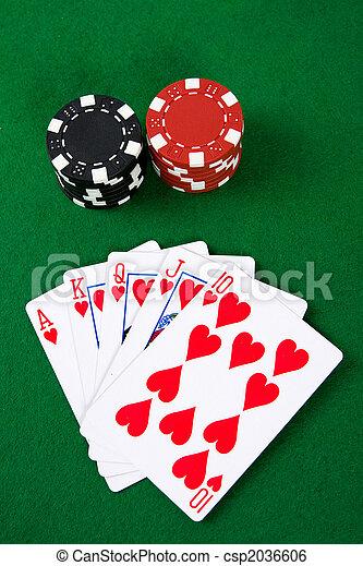 Poker arrangement - csp2036606