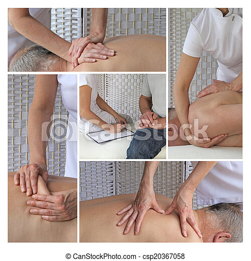 Sports Massage Therapy - csp20367058
