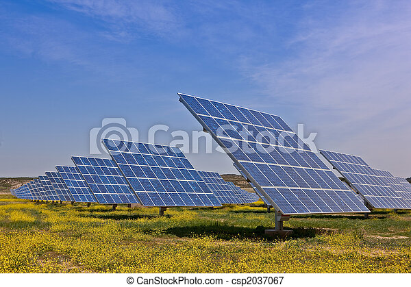 Solar power plant - csp2037067