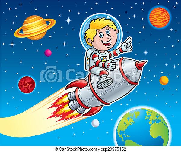 rocket space suit illustrations - photo #9