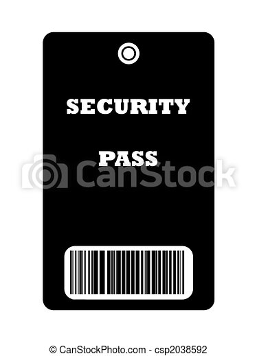 Security Pass - csp2038592